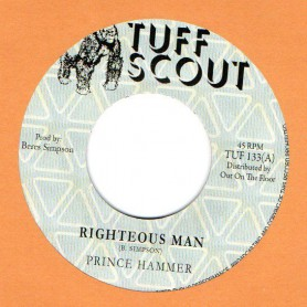 """(7"""") PRINCE HAMMER - RIGHTEOUS MAN / RIGHTEOUS DUB"""