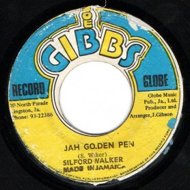 "(7"") SYLFORD WALKER - JAH GOLDEN PEN / MIGHTY TWO - GOLDEN DUB"