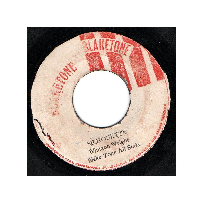 "(7"") WINSTON WRIGHT & BLACK TONE ALL STARS / SILHOUETTE THAT DID IT"