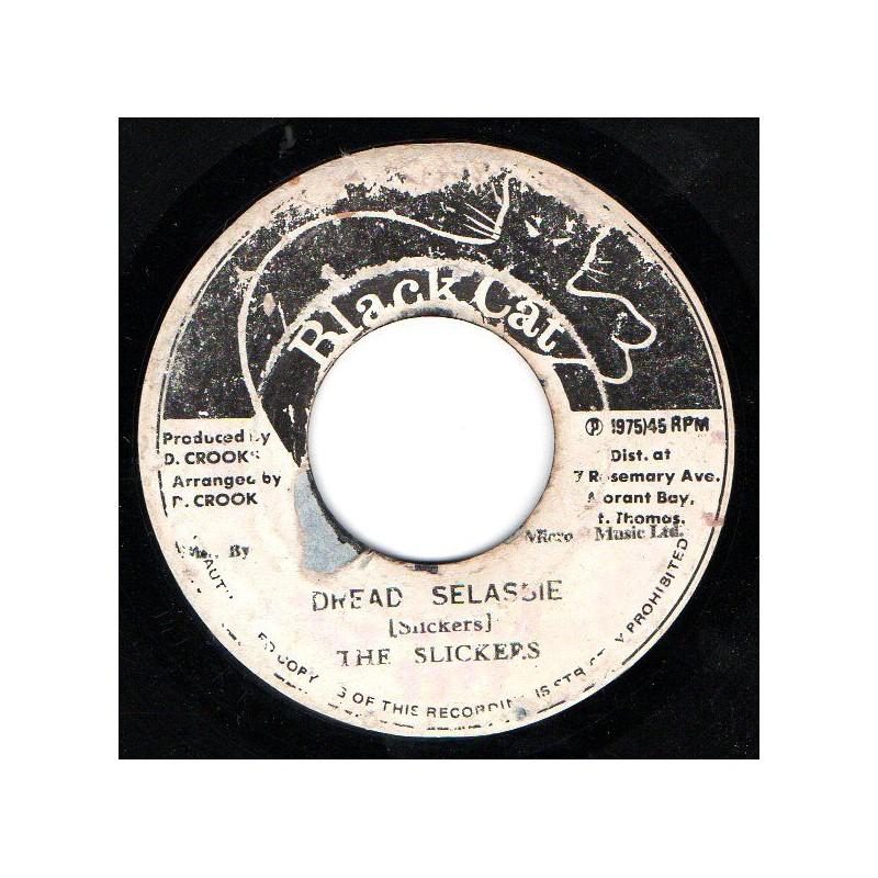 """(7"""") THE SLICKERS - DREAD SELASSIE / VERSION"""