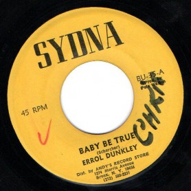 "(7"") ERROL DUNKLEY - BABY BE TRUE / MR SMILEY"