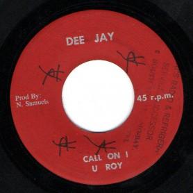 "(7"") U ROY - CALL ON I / DJ SPECIAL"