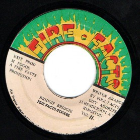 "(7"") FIRE FACTS - BRIDGIE BRIDGIE / VERSION"