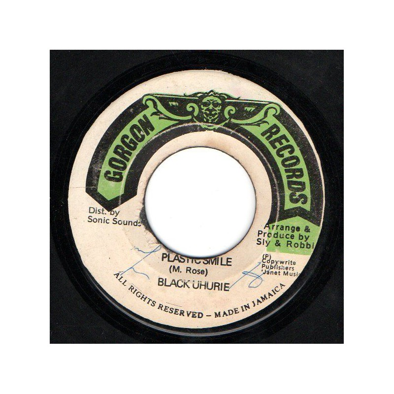 "(7"") BLACK UHURU - PLASTIC SMILE / THE REVOLUTIONARIES - POWDER FACE"