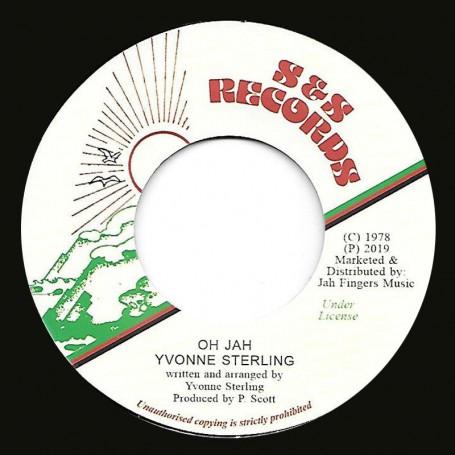 """(7"""") YVONNE STERLING - OH JAH / JAH SCOOP RHYTHM"""