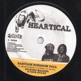 "(7"") SYLFORD WALKER & PAPA KOJAK - BABYLON KINGDOM FALL / NELLO B - A SO JAH SAY"