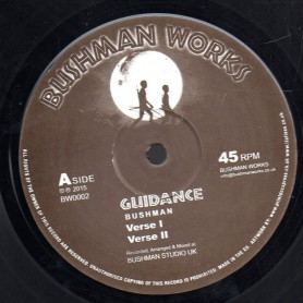 "(12"") BUSHMAN - GUIDANCE / JAH TEMPLE"