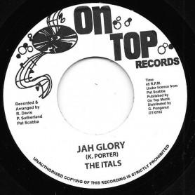 "(7"") THE ITALS - JAH GLORY / JAH GLORY VERSION"