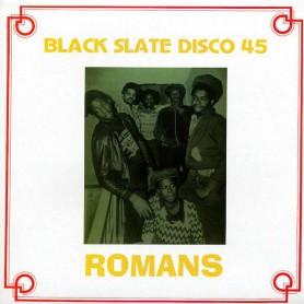 "(12"") BLACK SLATE - ROMANS / DUB FOR ROMANS"