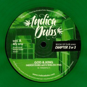 "(12"") INDICA DUBS MEETS SHILOH ITES - BOOK OF DUB SERIES CHAPTER 3 OF 3"