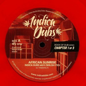 "(12"") INDICA DUBS MEETS SHILOH ITES - BOOK OF DUB SERIES CHAPTER 1 OF 3"