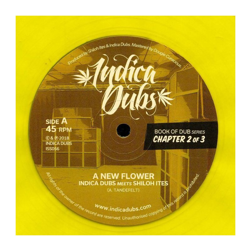 """(12"""") INDICA DUBS MEETS SHILOH ITES - BOOK OF DUB SERIES CHAPTER 2 OF 3"""