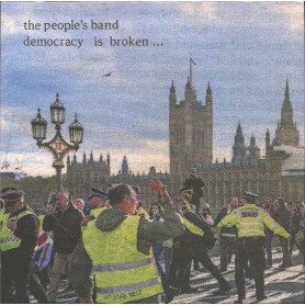 (LP) THE PEOPLE'S BAND - DEMOCRACY IS BROKEN