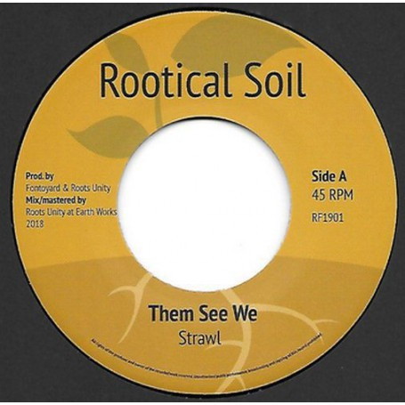 "(7"") STRAWL - THEM SEE WE / VERSION"