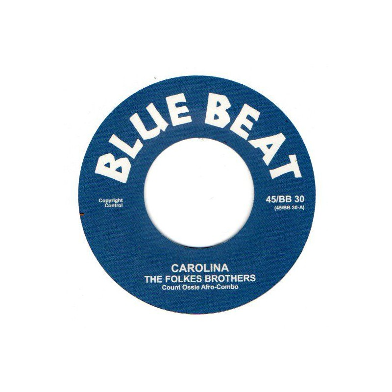 "(7"") THE FOLKES BROTHERS - CAROLINA / I MET A MAN"