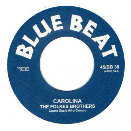 "(7"") THE FOLKES BROTHERS - CAROLINA / I MET A MAN"