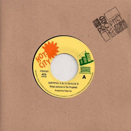 "(7"") VIVIAN JACKSON AND THE PROPHETS - SIPPING I & I CHALICE / VERSION"
