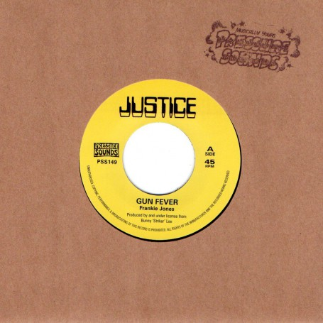"(7"") FRANKIE JONES - GUN FEVER / VERSION"