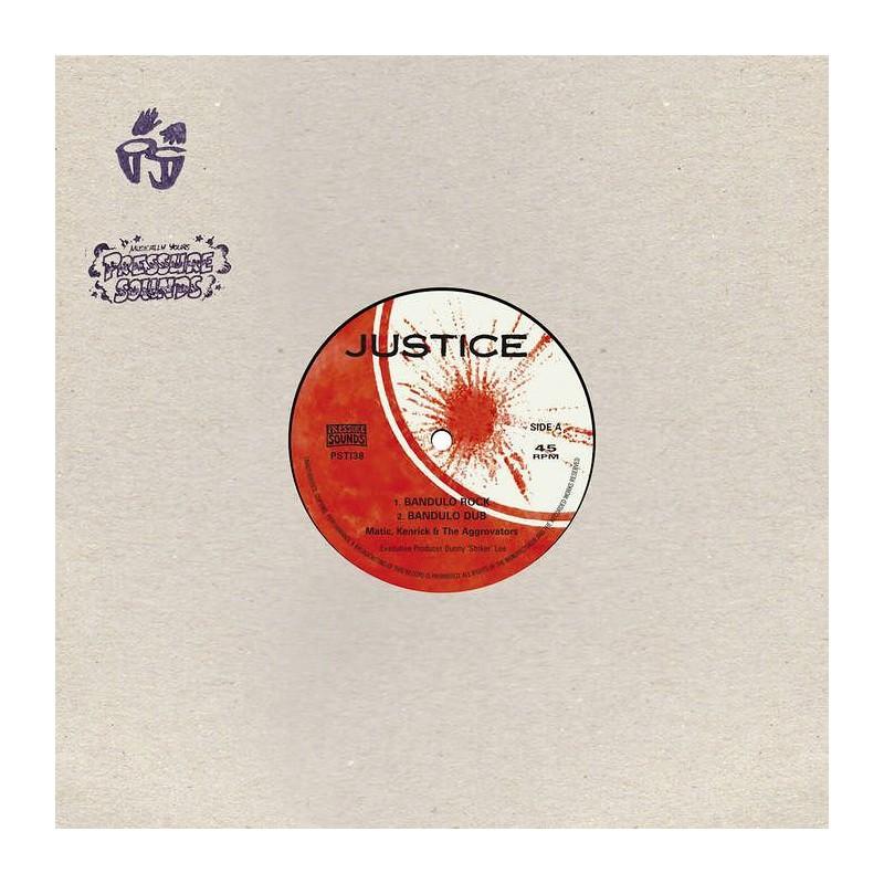 """(10"""") MATIC, KENRICK & THE AGGROVATORS - BANDULO ROCK / LATE NIGHT BLUES"""