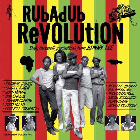 (2xLP) VARIOUS ARTISTS - RUB A DUB REVOLUTION