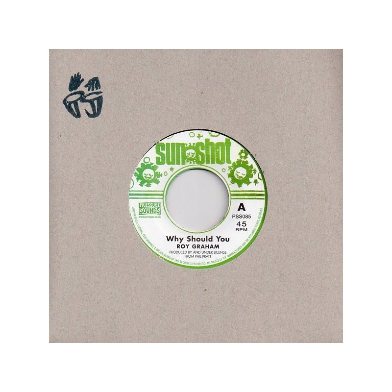 "(7"") ROY GRAHAM - WHY SHOULD YOU / VERSION"