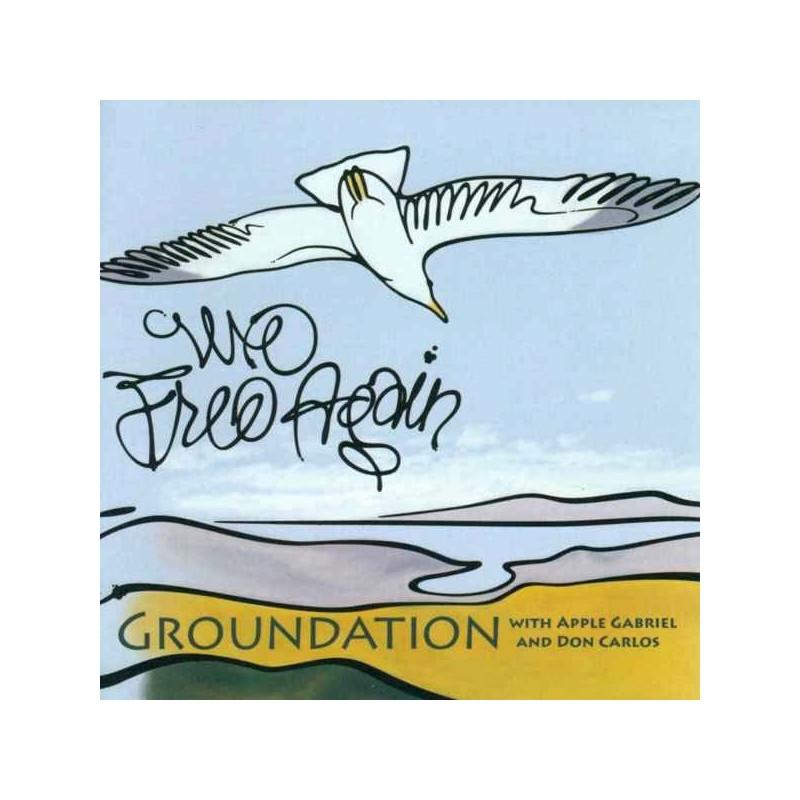 (2xLP) GROUNDATION - WE FREE AGAIN - WITH APPLE GABRIEL & DON CARLOS