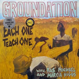 (2xLP) GROUNDATION WITH RAS MICHAEL & MARCIA HIGGS  - EACH ONE TEACH ONE