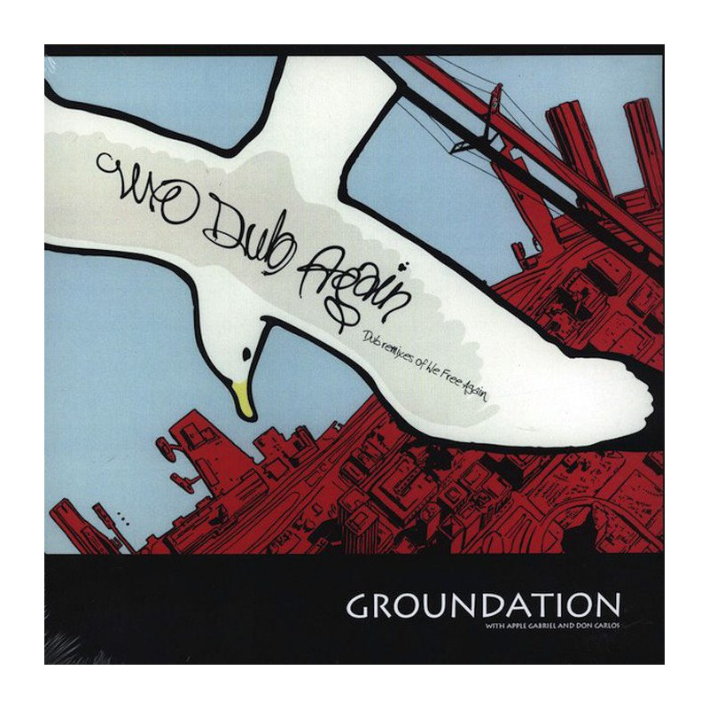 (LP) GROUNDATION - WE DUB AGAIN - WITH APPLE GABRIEL & DON CARLOS
