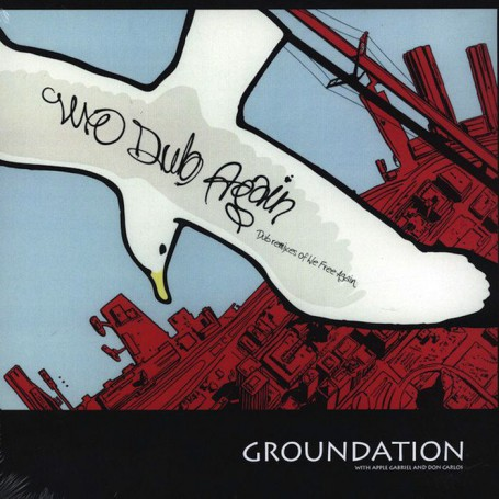 (LP) GROUNDATION - WE DUB AGAIN - WITH APPLE GABRIEL & DON CARLOS