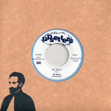 "(7"") BOB MARLEY - MR MUSIC / VERSION"