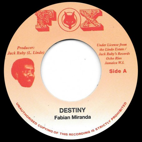 "(7"") FABIAN MIRANDA - DESTINY / VERSION"