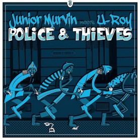 "(12"") JUNIOR MURVIN MEETS U ROY - POLICE & THIEVES"