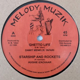 "(12"") DAWIT MENELIK TAFARI - GHETTO LIFE / PEACE AND LOVE"