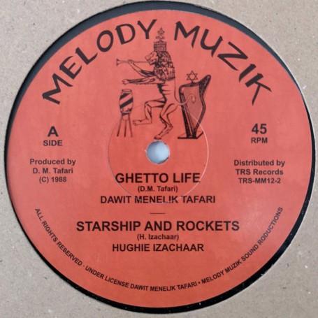 "(12"") DAWIT MENELIK TAFARI - GHETTO LIFE / PEACE AND LOVE"
