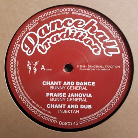 "(12"") BUNNY GENERAL - CHANT AND DANCE / TENOR YOUTHMAN - DANCEHALL TRADITIONS"
