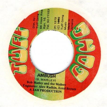"""(7"""") BOB MARLEY & THE WAILERS - AMBUSH / AMBUSH IN DUB"""