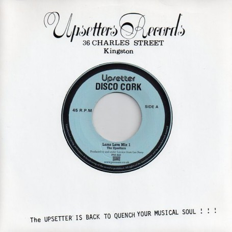 "(7"") THE UPSETTERS - LAMA LAVA MIX 1 & 2"