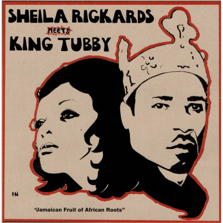 "(12"") SHEILA RICKARDS MEETS KING TUBBY - JAMAICAN FRUIT OF AFRICAN ROOTS"