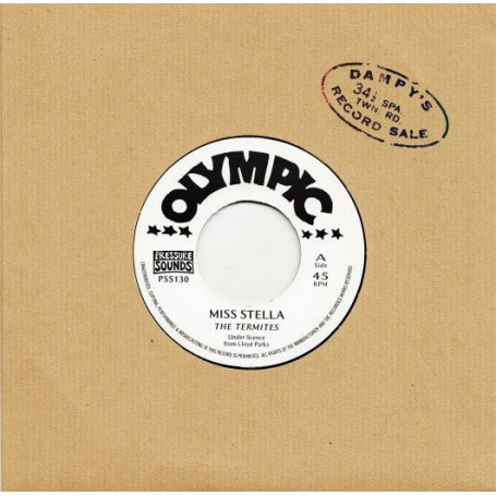 "(7"") THE TERMITES - MISS STELLA / SHOW ME THE WAY"