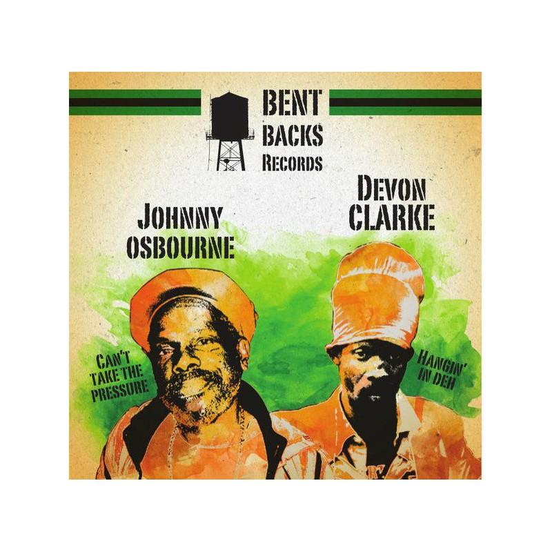 "(12"") JOHNNY OSBOURNE - CAN'T TAKE THE PRESSURE / DEVON CLARKE - HANGIN IN DEH"