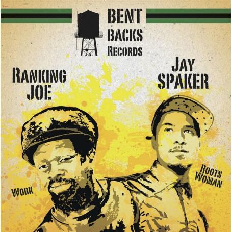 """(12"""") JAY SPAKER - ROOTS WOMAN / RANKING JOE - WORK"""