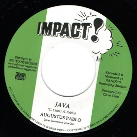 "(7"") AUGUSTUS PABLO - JAVA / IMPACT ALL STARS - JAVA VERSION"