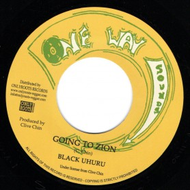 "(7"") BLACK UHURU - GOING TO ZION / PART 2"