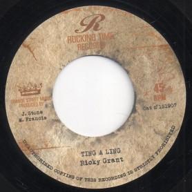 "(7"") RICKY GRANT - TING A LING / JOSEPH COTTON - CELEBRITY"