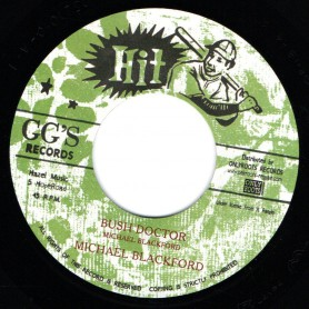 "(7"") MICHAEL BLACKFORD - BUSH DOCTOR / VERSION"