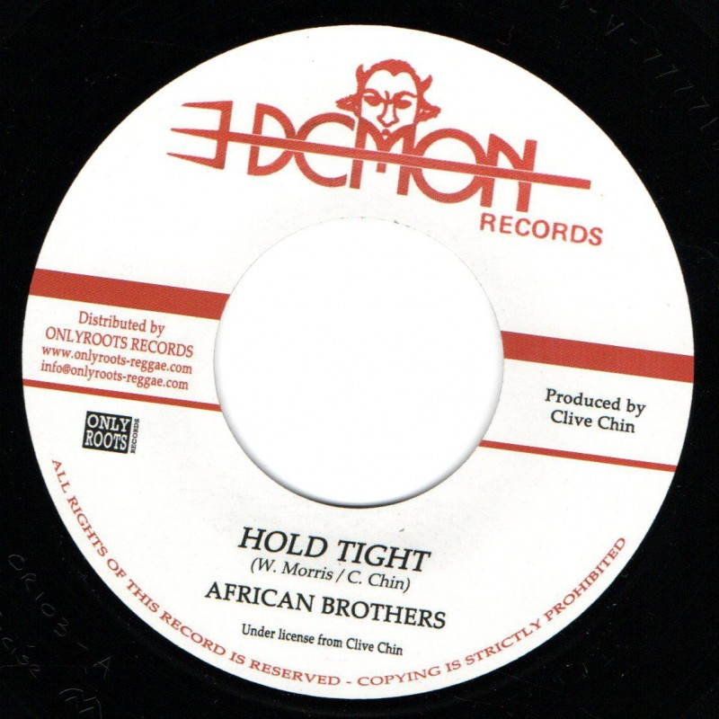 "(7"") AFRICAN BROTHERS - HOLD TIGHT / IMPACT ALL STARS - HOLD TIGHT DUB"