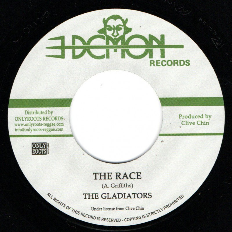"""(7"""") THE GLADIATORS - THE RACE / THE RACE VERSION"""