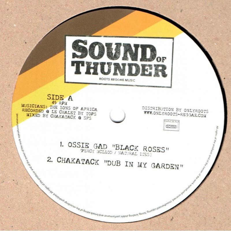 "(12"") OSSIE GAD - BLACK ROSES / DRIFTER"