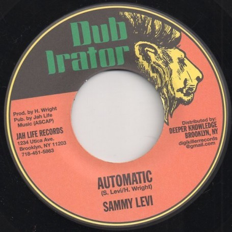 "(7"") SAMMY LEVI - AUTOMATIC / DUB IN THE AREA"