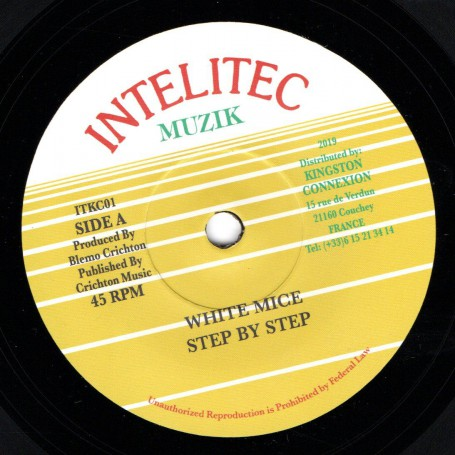 "(7"") WHITE MICE - STEP BY STEP / VERSION"